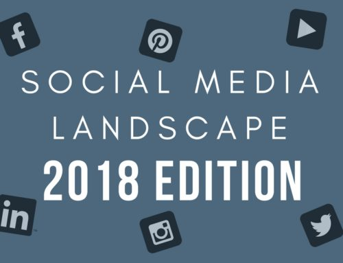 Social Media Landscape in 2018 (Infographic)